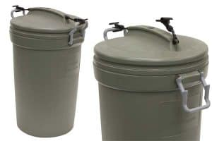 The Rubbermaid Animal Stopper Trash Can
