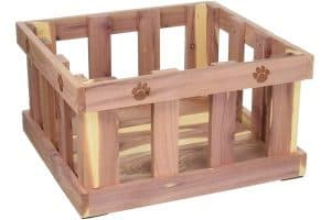 Woodlore Cedar Pet Toy Box
