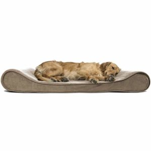 frhaven micro velvet cooling gel dog bed jumbo size