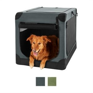 frisco indoor and outdoor soft dog crate