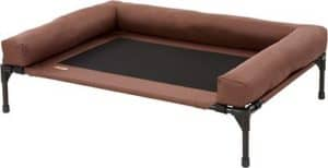 kh pet products original bolster dog cat cot chocolate