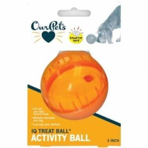 ourpets interactive IQ treat ball