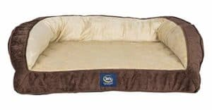 serta ortho quilted dog bed